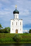Church of  Intercession on River Nerl Stock Photography