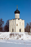 Church of the Intercession on the River Nerl Royalty Free Stock Photography