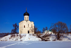 Church of the Intercession on the River Nerl Royalty Free Stock Image