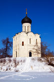 Church of the Intercession on the River Nerl Royalty Free Stock Images