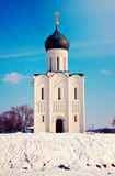 Church of the Intercession on the River Nerl Stock Photography