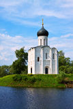 Church of the Intercession on the River Nerl Royalty Free Stock Photo