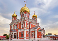 Church of intercession in saratov Royalty Free Stock Images
