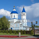 Church of the Intercession in Tambov, Russia Royalty Free Stock Images