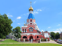 Church of the Intercession in Uzhhorod, Transcarpathia, Ukraine Stock Photos