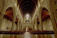 Church Interior. Interior of an Australian Church Stock Images