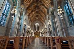 Church Interior. Royalty Free Stock Photos