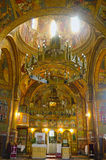 Church Interior. The Orthodox Church of Alun's painted interior Stock Photography