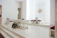 Church interior Stock Photos