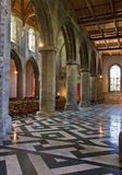 Church interior architecture Royalty Free Stock Photos