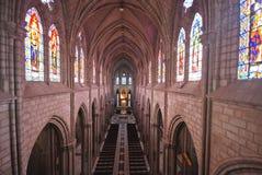 Church interior - Basilica del Voto Nacional Stock Photography