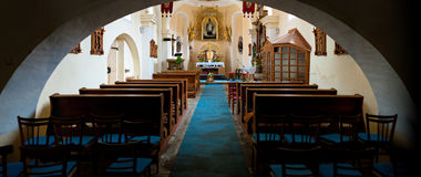 Church interior Stock Images