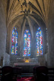 Church Interior in Dinan, Brittany, France Stock Images