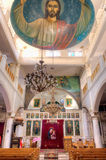 Church interior in Esna, Egypt Royalty Free Stock Photography