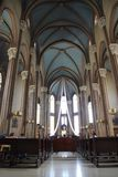 Church interior France Royalty Free Stock Images