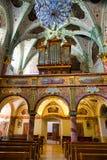 Church interior in Marianka, Slovakia royalty free stock image