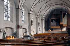 Church interior Monschau Germany Royalty Free Stock Photography