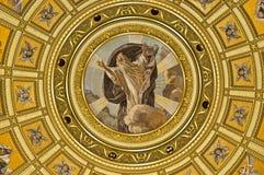 Church interior painting Royalty Free Stock Photo