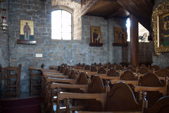 Church interior religion holy Stock Photography