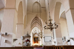 Church interior. Tallinn. Estonia Royalty Free Stock Photo