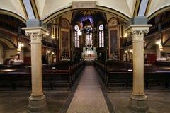 Church interior in Torun Royalty Free Stock Image