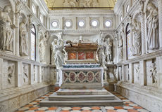 Church interior at Trogir in Croatia Stock Image