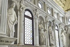 Church interior at Trogir in Croatia Royalty Free Stock Photo