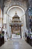 Church interior at Trogir in Croatia Stock Images