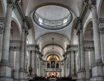 church interior,venice Stock Image