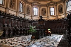 church interior, Venice royalty free stock images