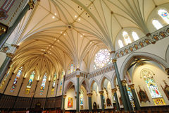 Church Interiors Royalty Free Stock Photography