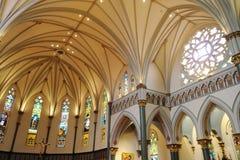 Church Interiors Stock Photography