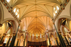 Church Interiors Stock Photos
