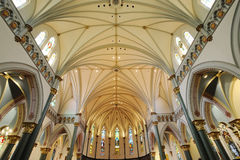 Church Interiors royalty free stock images