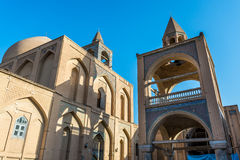 Church in Isfahan. So called Vank Cathedral in Isfahan city, Iran Stock Photos