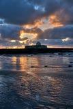 Church on an Island Royalty Free Stock Image