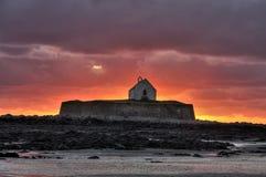 Church on an Island Royalty Free Stock Photos