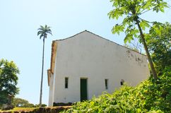 Church on island Ilha Grande, Brazil Royalty Free Stock Image