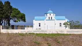 Church of island Kos, greece Royalty Free Stock Photos