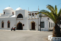 Church on the island of Patmos Royalty Free Stock Photos