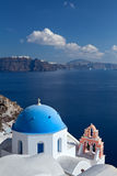 Church of the island of Santorini Royalty Free Stock Images
