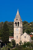 Church on island Sipan, Croatia Royalty Free Stock Photography