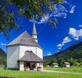 Church in Italian Alps Royalty Free Stock Photos