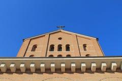 Church. Italian Church on sky line Stock Photography