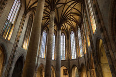Church of the Jacobins interior Stock Photography