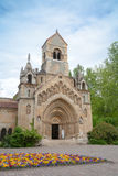 Church of Jak, Vajdahunyad castle. Budapest, Hungary Royalty Free Stock Photos