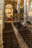 Church Jerónimos monastery abbey Lisbon Stock Photography