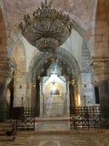 A church in Jerusalem royalty free stock photo