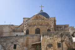 Church in jerusalem Royalty Free Stock Images