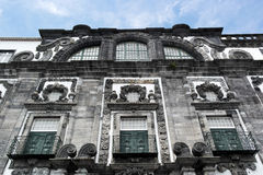Church of the Jesuit College, Ponta Delgada, Portugal Royalty Free Stock Photos